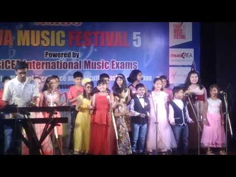 What a wonderful world! Sung by Aditi and his group at Yuva music Festival
