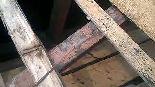 простое и легкое соединение кукушки с основной крышей без стропил