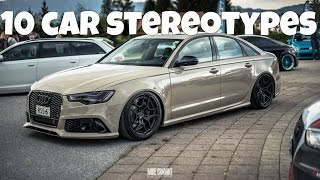 10 Car Stereotypes