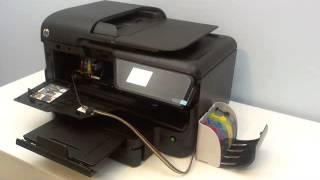 CISS Continuous ink system for HP Officejet Pro 8600 8100 e-all-in-one printer