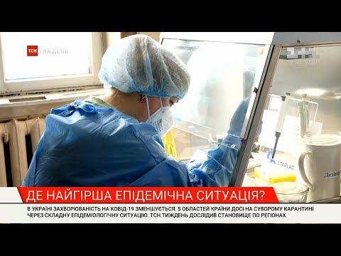 Яка ситуація з коронавірусом у різних регіонах України