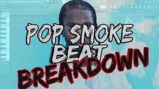 Making A Pop Smoke Type Beat (Tutorial) Fl Studio20