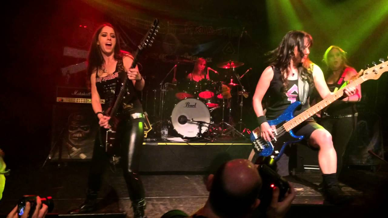The Iron Maidens : 39 aces high 39 the iron maidens live london islington 14 apr 2016 youtube ~ Hamham.info Haus und Dekorationen