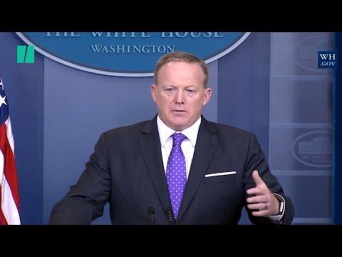 Sean Spicer Blames Obama Admin. For Michael Flynn Clearance