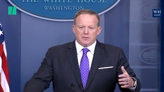 Sean Spicer Blames Obama Admin. For Michael Flynn Clearance