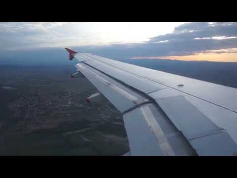 Austrian Airlines A319 (OE-LDB) - Landing RWY34 & Taxi to Terminal in Vienna (VIE/LOWW)