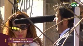 Saeta a la Virgen del Rocio en campana 2015, Manuel Cuevas