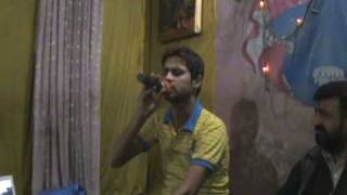 FAISAL KALI SINGING A SONG BHEEGAY HONT TEREY IN SUHANEY PAL MUSICAL ACADEMY