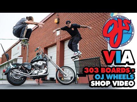 Heavy Ripping from the Rockies | 'VIA' 303 Boards x OJ Wheels Shop Video | OJ WHEELS
