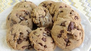 How To Make Mint Chocolate Chunk Cookies