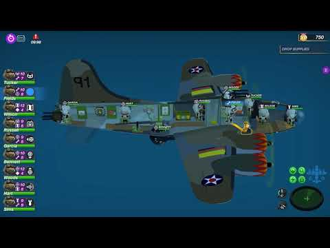 Corsica Resistance Supply Drop Bomber Crew USAAF Gameplay High risk mission |