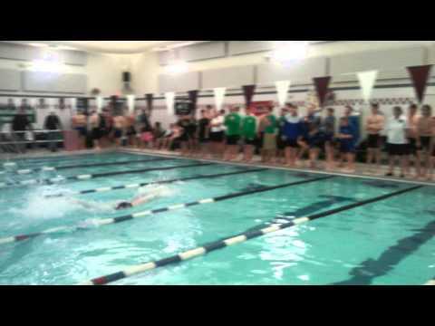 Kennebunk High School 200 Free Relay Record 2015