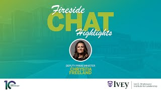Thumbnail Exploring leader character with Deputy Prime Minister Chrystia Freeland