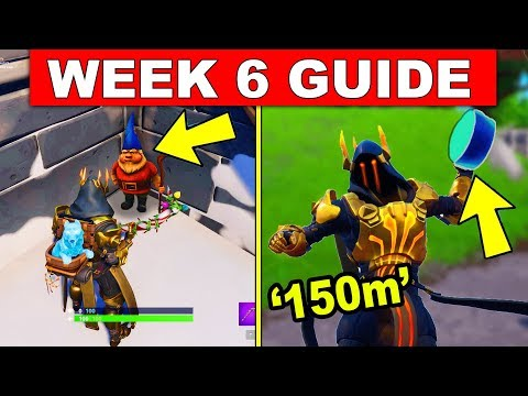 Fortnite WEEK 6 CHALLENGES GUIDE! – CHILLY GNOMES, SEARCH AN AMMO BOX AT DIFFERENT NAMED LOCATIONS thumbnail