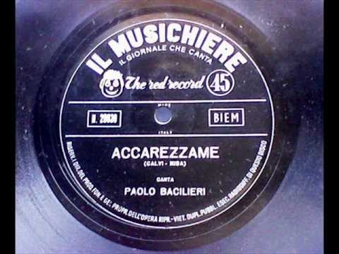 Paolo Bacilieri ....Accarezzame