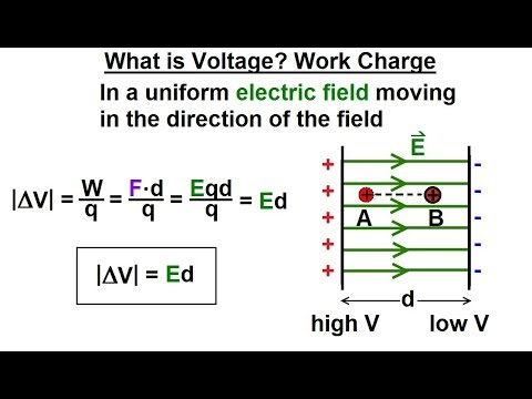 Physics - E&M: Ch 38.1 Voltage Potential Understood (5 of 24) What is Voltage? Work on Charge