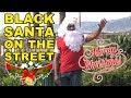 Jesse Lee Peterson Presents: Black Santa On The Street! Merry Christmas!! (#111)