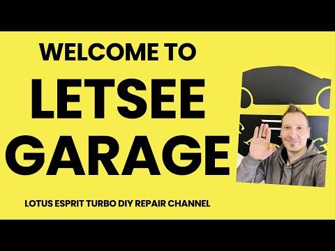 How to repair Lotus Esprit Turbo. Welcome to Letsee Garage! DIY repair car channel.