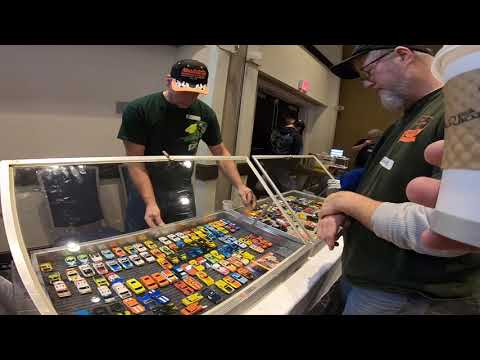Bob Beers Super Bowl Slot Car Show 2020 Walking Around