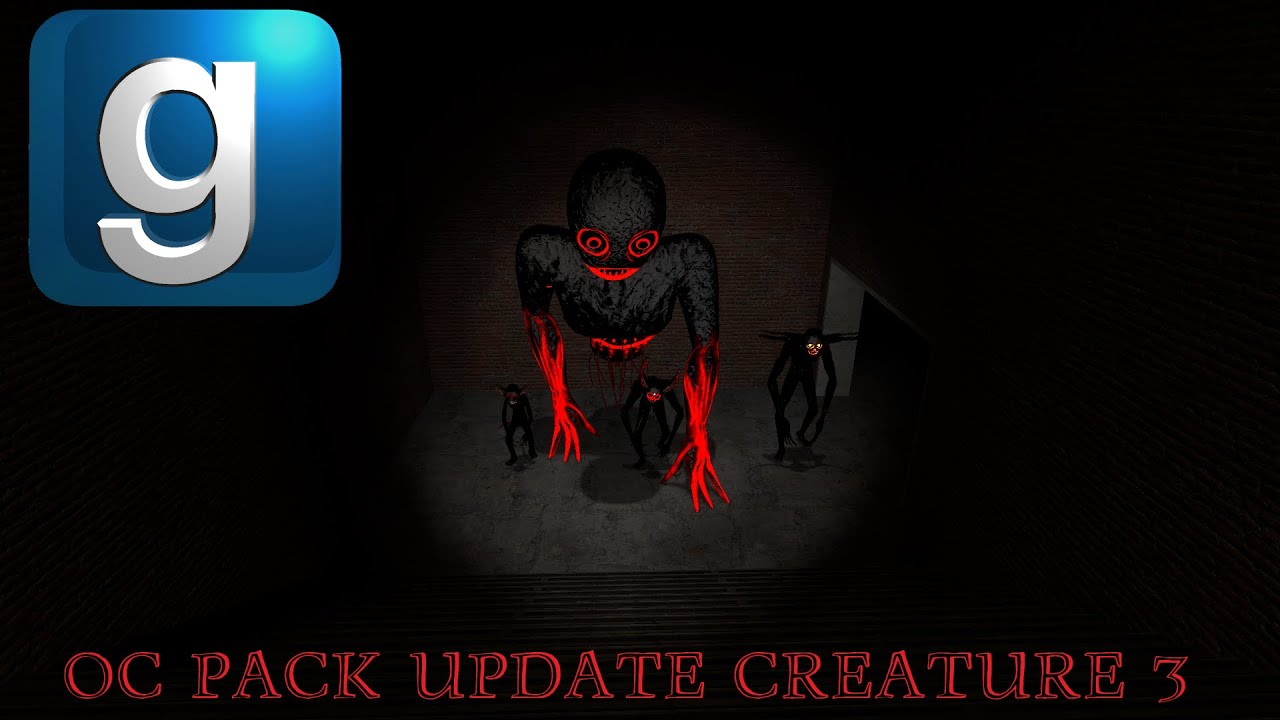 Download **NEW** GMod Trevor Henderson OC Pack Update Creature: Funny Fear.