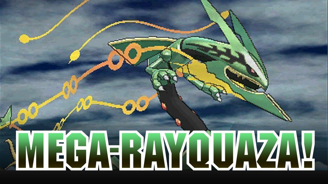 Mega Rayquaza Wurde Für Pokémon Omega Rubin Und Pokémon Alpha Saphir