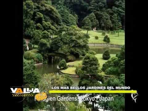 Los Jardines mas lindos del mundo en LA VALIJA 2013, 21 de Septiembre