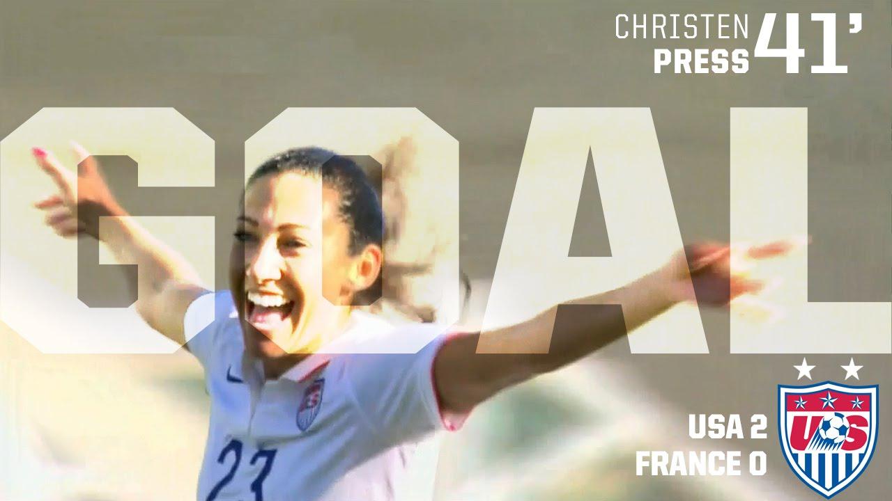 Meet the U S  Women's Soccer Team: Christen Press - Dear