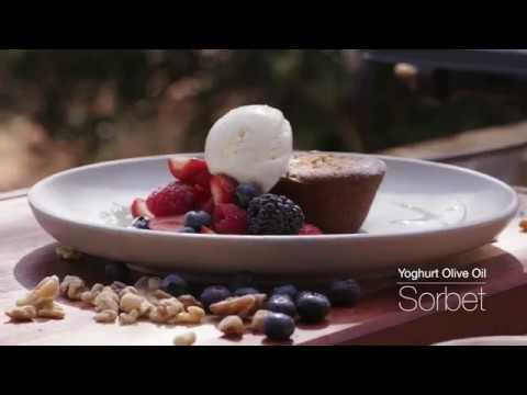 Matt Sinclair's Yoghurt & Extra Virgin Olive Oil Sorbet