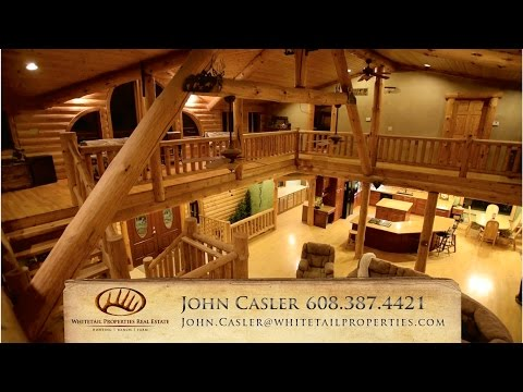 Wisconsin Log Home With Land For Sale | Crawford County |  99.5 Acres