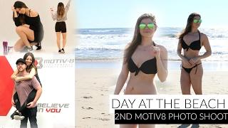 first time wearing a bikini in public   2nd motiv8 photo shoot