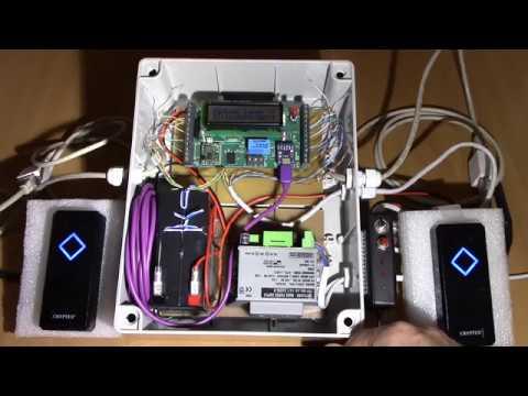 RFID Kártyás beléptető rendszer