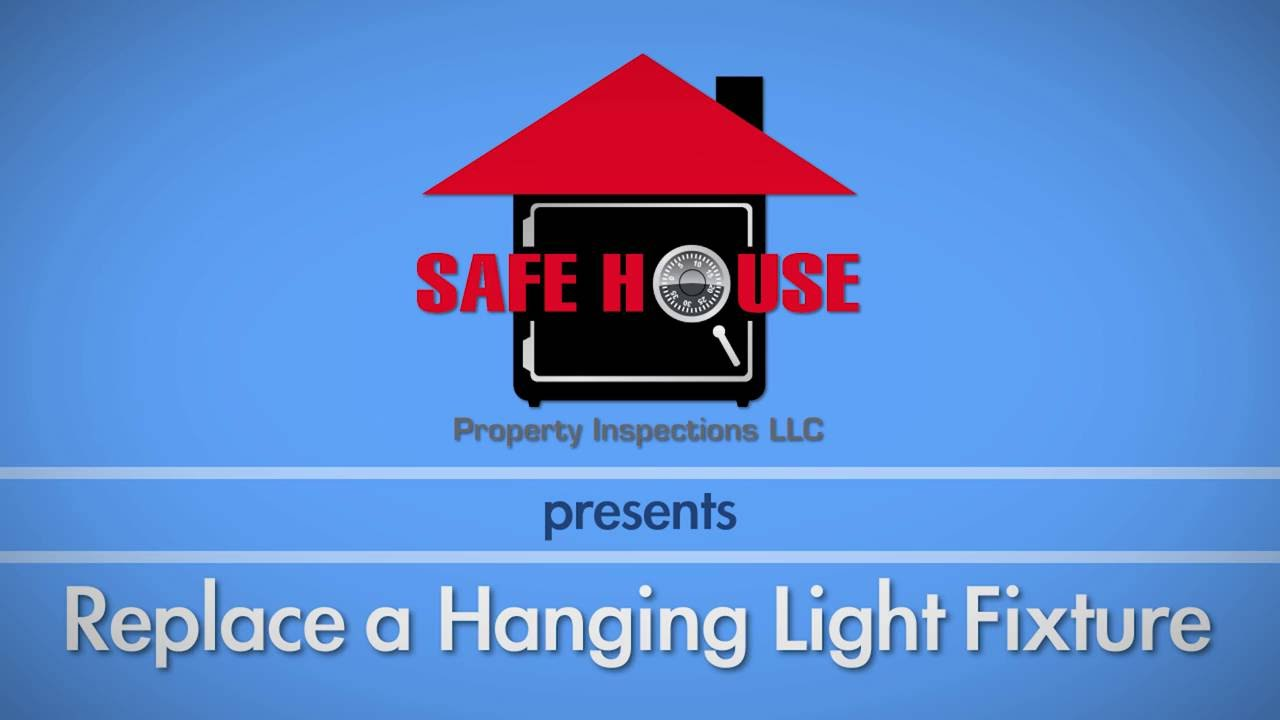 Replacing a Hanging Light