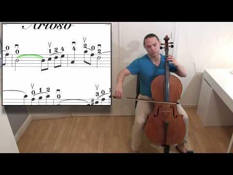 EASY Bach ARIOSO Cello Lesson
