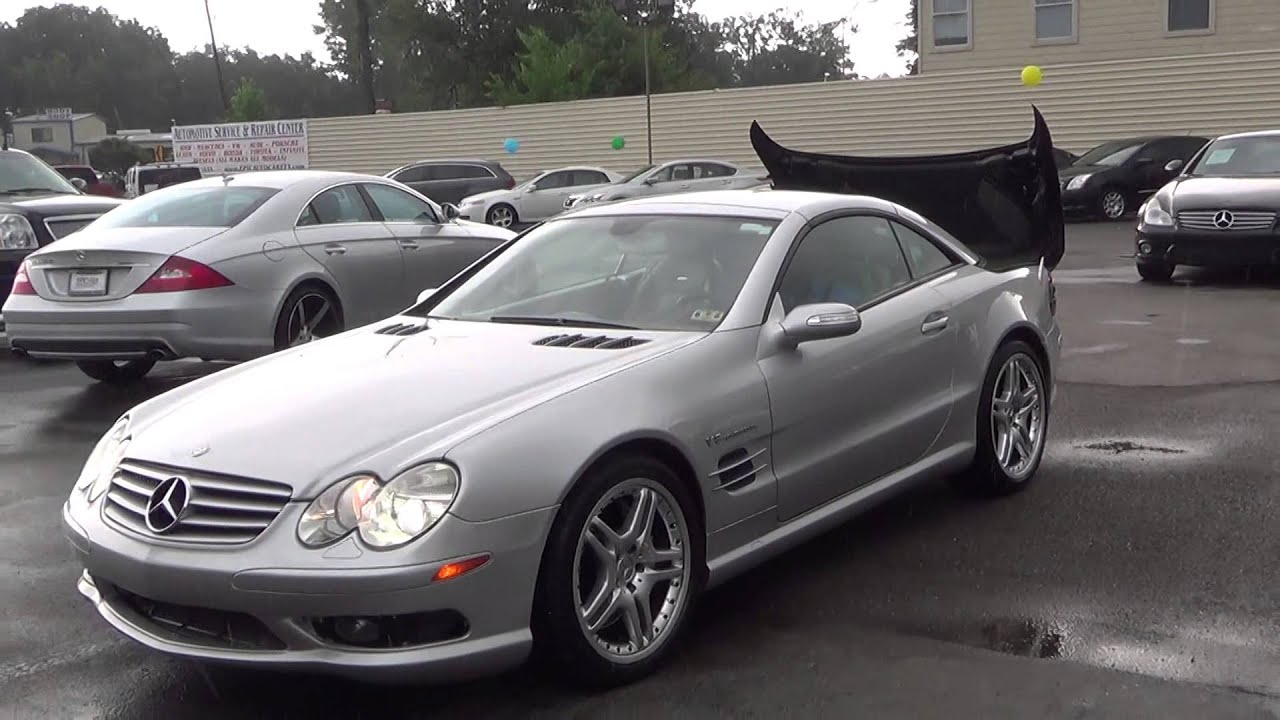087711 2005 mercedes benz sl55 amg sl55 amg epic auto for Mercedes benz sl55 amg