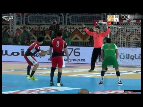 22nd African Men's Handball Championship - Ali Zein best goals