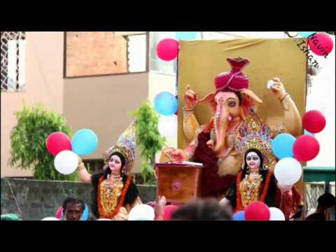 Ganpati visharjan Korba Chhattisgarh