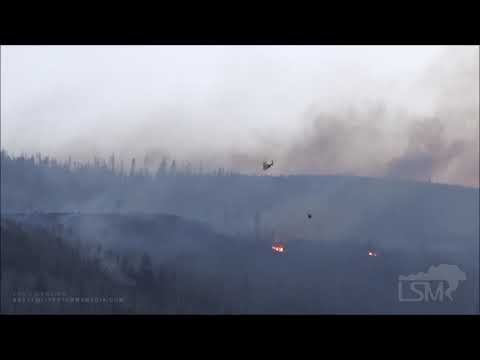 10-24-2020 Granby, CO  East Troublesome Fire Activity