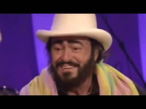 Luciano Pavarotti interview - Parkinson - BBC