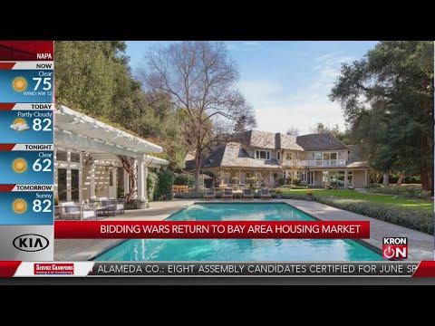 Bay Area real estate bidding wars create seller's market