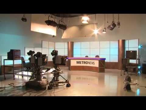 Metro News 2014 | Behind the Scenes | New Zealand Broadcasting School (NZBS)