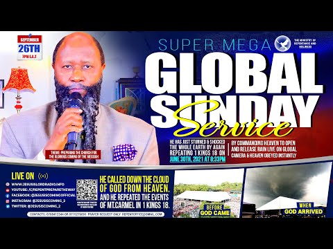 Global Sunday Revival Service | September 26, 2021