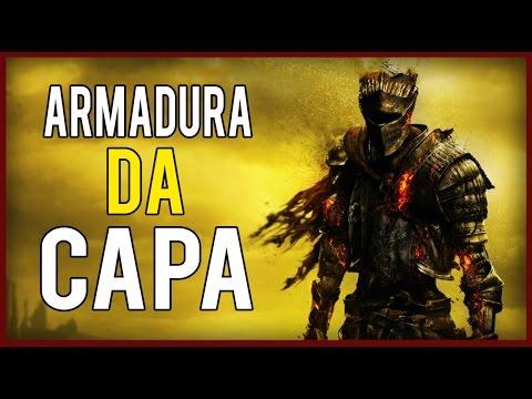 Dark Souls 3 - Armadura da Capa do Jogo Firelink Armor / Red Knight