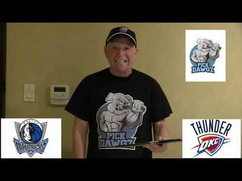 Oklahoma City Thunder vs Dallas Mavericks 1/27/20 Free NBA Pick and Prediction NBA Betting Tips