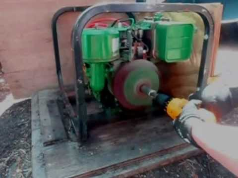 How to convert a generator recoil starter to an electric starter!