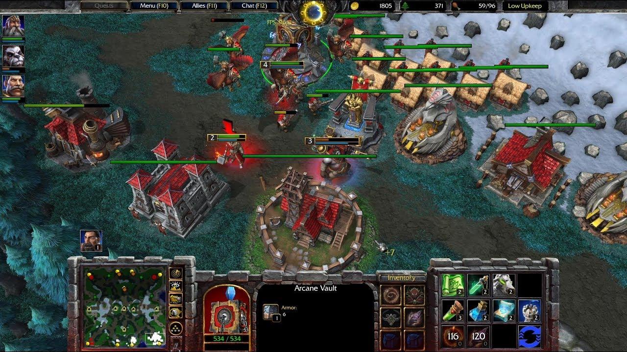 warcraft 3 original gameplay