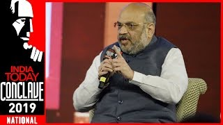 India under PM Modi Has Given Strong Message To Pakistan: Amit Shah Exclusive | IT Conclave 2019