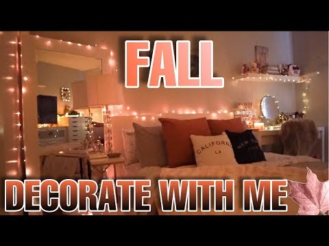 FALL DECORATE WITH ME - DECORATING FOR FALL | COZY FALL DECOR ON A BUDGET | FALL DECOR IDEAS