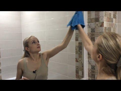 Как помыть зеркало без разводов. Быстро и качественно.