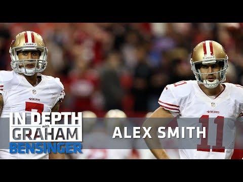 Alex Smith: Losing job to Colin Kaepernick