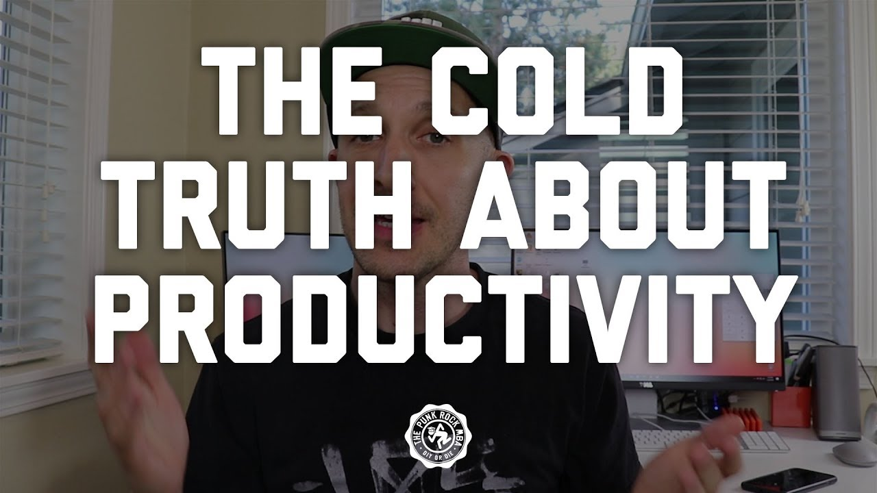 About Productivity the cold, hard truth about productivity - the punk rock mba
